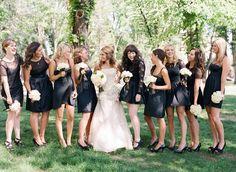 #black #white #wedding
