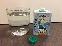 Sourcy Appel water smaak
