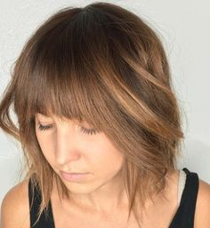 Best bangs for straight hair different bangs for round faces