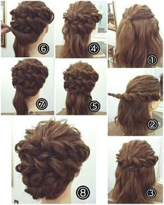 Double Dutch Braid Upstyle The post Easy Wedding Hairstyles For Long Hair Updo appeared first on Hair Styles. Diy Wedding Hair, Wedding Hairstyles For Long Hair, Fancy Hairstyles, Wedding Hair And Makeup, Braided Hairstyles, Hair Makeup, Simple Hairstyles, Hairstyle Ideas, Pinterest Hair