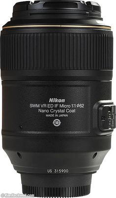 review of AF-S VR Micro-NIKKOR 105mm f/2.8G IF-ED (about $800) MY FAVORITE, basic lens