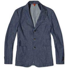 Barena Toppa Jacket (Indigo Print Amio)