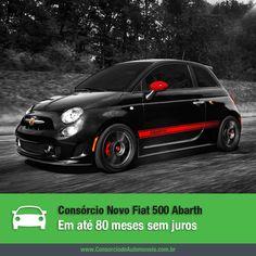 O Fiat 500 Abarth finalmente chega ao mercado brasileiro! Acesse nossa matéria e saiba como programar a compra do seu: https://www.consorciodeautomoveis.com.br/noticias/novo-fiat-500-abarth-em-ate-80-meses-sem-juros?idcampanha=206&utm_source=Pinterest&utm_medium=Perfil&utm_campaign=redessociais