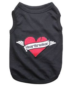 Pet ClothesHEARTBREAKERDog T-Shirt-Medium « Pet Lovers Ads