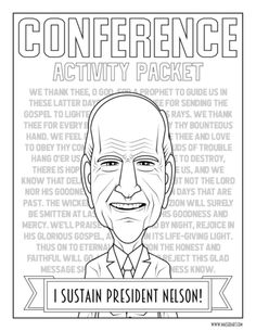 Easily Create fun Visual Aids for General Conference – Maeser Art General Conference Activities For Kids, Primary Activities, Primary Lessons, Sunday Activities, Primary Teaching, Primary Music, Lds Conference, General Conference Quotes, Activity Day Girls