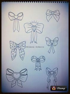 Bow tattoodesigns