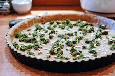 Pâte à tarte à l'huile d'olive facile Recette
