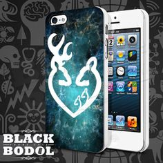 Browning White Galaxy Phone Case  Skull Case  Rubber by BLACKBODOL, $13.99