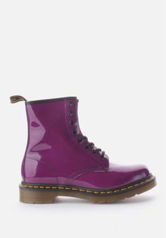 Dr. Martens 1460 W Women's Patent Lamper Boot Purple #DiffusionNewArrivals