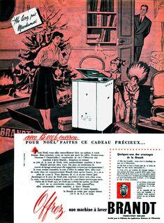 Publicité Brandt 1955