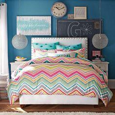Pb teen zig-n-zag bedspread