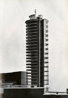 [A3N] : Angelo Mangiarotti and Bruno Morassutti. Domus 309 August 1955