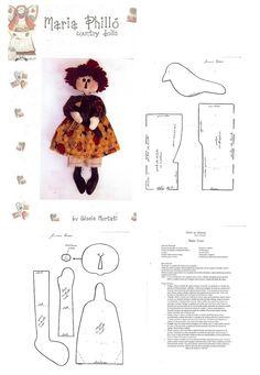 doll pattern ..