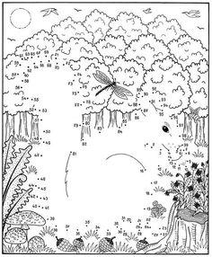 natur wald herbst tiere malvorlage kindergarten | natur erkunden im kindergarten | pinterest