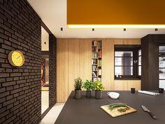 Home Tour: um loft matador Black Kitchen Island, Double Bath, Lawyer Office, Loft, Black Kitchens, Apartment Interior, Luxurious Bedrooms, Decoration, House Tours