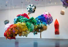 """"""" Mike Kelley Retrospective Will Take Over All of MoMA in October! Save the date: October Mike Kelley. Deodorized Central Mass with Satellites. Images courtesy of. Sculpture Textile, Textile Art, Sculpture Art, Animal Sculptures, Moma, Giuseppe Penone, Instalation Art, Museum Of Modern Art, Oeuvre D'art"""