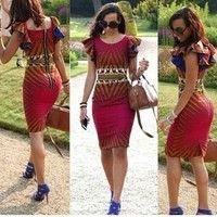 2019 Fashion Women Traditional African Print Red Dashiki Boho Maxi Long Dress – African Fashion Dresses - African Styles for Ladies African Dresses For Women, African Print Dresses, African Attire, African Fashion Dresses, African Wear, African Women, African Prints, African Style, Dress Fashion