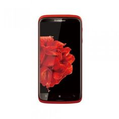 Lenovo S820 Quad Core 4.7 Inch Android 4.2 Mobile Phone 13M Camera GPS Red - Android Phones