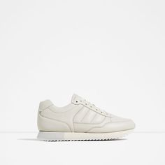 ZARA - WOMAN - LACE-UP SNEAKERS