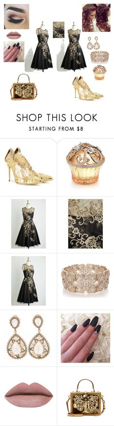 """Untitled #30"" by lejlaaganovic ❤ liked on Polyvore featuring beauty, Oscar de la Renta, House of Sillage, Oasis, Dolce&Gabbana, BeautyTrend, beautiful and Elegance"