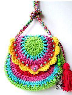 Crochet bag сумка крючком