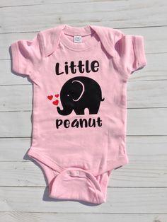 Baby Girl/Baby Shower Gift/Little Peanut/Pink Bodysuit/baby Girl onesie/elephant/peanut/baby girl present by sunnyvilledesigns on Etsy https://www.etsy.com/listing/561198166/baby-girlbaby-shower-giftlittle