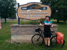 Natasha Niznik, an engineering technologist for Toronto Water (Ontario) is in the midst of a light-hearted odyssey to visit every wastewater treatment plant in the province via bicycle and chronicle her adventures on Twitter with the hashtag #tourdepoop.