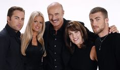 Dr. Phil and his family.
