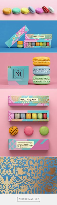 Mixville | Sweets packaging on Behance curated by Packaging Diva PD. Who wants some macaroons now : ):