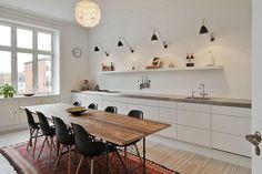 Kjøkken uten overskap