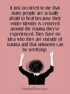 PTSD post traumatic stress disorder veterans trauma quotes recovery symptoms signs truths coping skills mental health facts read more about PTSD at Mental Illness Quotes, Trauma Quotes, Quotes On Anxiety, Depression And Anxiety Quotes, Bipolar Quotes, Mental Illness Awareness, Ptsd Awareness, The Words, Inspiration Quotes