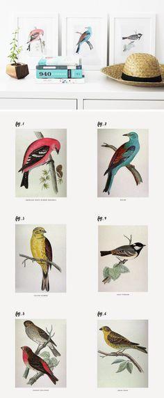 6 Free Wall Art Printables