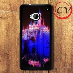 Disney Castle HTC One M7 Black Case
