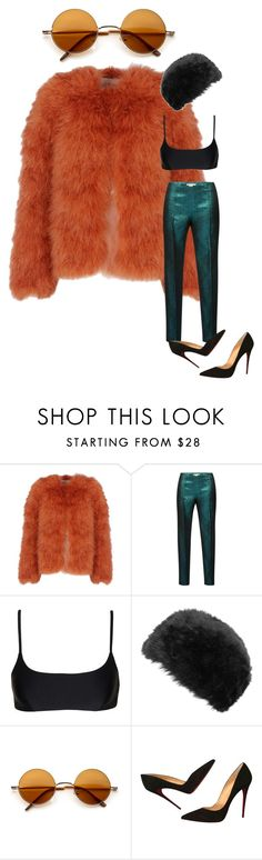 """""""mannequinxo x I feel like John Lennon // Bella Hadid"""" by xoflawlessmannequinxo ❤ liked on Polyvore featuring Valentino, Antonio Berardi, Matteau, Dorothy Perkins and Christian Louboutin"""