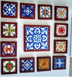 tattoo - mandala - art - design - line - henna - hand - back - sketch - doodle - girl - tat - tats - ink - inked - buddha - spirit - rose - symetric - etnic - inspired - design - sketch Tile Crafts, Diy Home Crafts, Arts And Crafts, Azulejos Diy, 3d Wall Decor, Blue Pottery, Turkish Art, Indian Home Decor, Motif Floral
