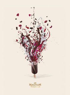 'Magnum Art' Ad Campaign by Lola Madrid | Trendland