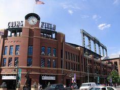Coors Field, Denver, Colorado, Home of the Colorado Rockies © Ken Lund/Flickr