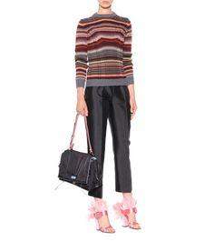 Prada - Gestreifter Pullover aus Wolle - mytheresa.com