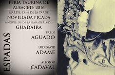 PREVIA Y SORTEO DE LA 6ª DE ABONO FERIA 2016  Feria Taurina de Albacete 2016 Noticias Toros Previa Toros Toros