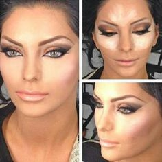 Contouring can make extreme changes