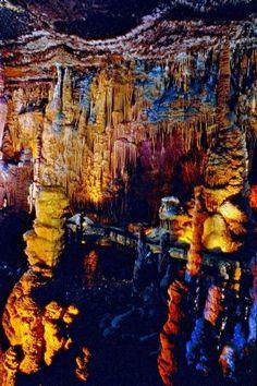 Blanchard Caverns, Mountain View, Arkansas.
