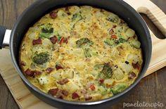omelete brócolis