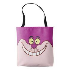 Alice in Wonderland - Cheshire Cat Face 3. Regalos, Gifts. #bolso #bag