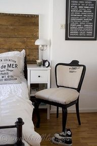 Chair makeover using