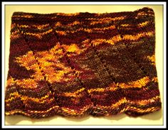 CASHMERE merino neck warmer // One of a kind // Hand knit and super soft // Indian Summer // caramel yellow, merlot red, chocolate brown by AstasDelights on Etsy