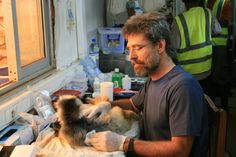 Check out Dr. Junge, VP of Animal Health, working on a lemur field project in Madagascar!