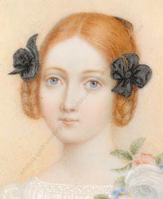 Kinderfrisur, vermutlich frühe 1840er
