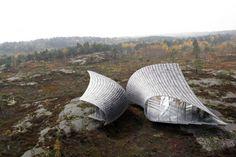 Torsten Ottesjö's Spectacular Leaf-Shaped Structures Are Inspi...