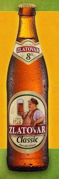 Opavské výčepní Classic 8% je osvěžující, řízné a hořké světlé pivo