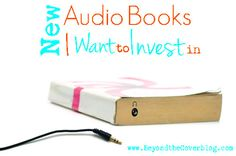 New audio books I want to invest in and maybe you would, too! | www.beyondtheinspiration.com